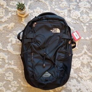 North Face Solid State Backpack Rose Gold NWT